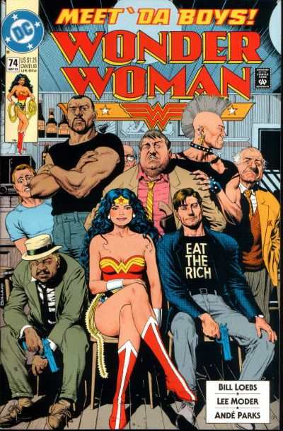 Wonder Woman #74 comic books for sale