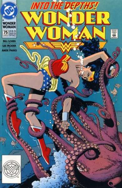 Wonder Woman #75 Comic Books - Covers, Scans, Photos  in Wonder Woman Comic Books - Covers, Scans, Gallery