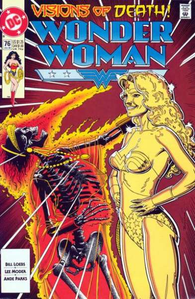 Wonder Woman #76 Comic Books - Covers, Scans, Photos  in Wonder Woman Comic Books - Covers, Scans, Gallery