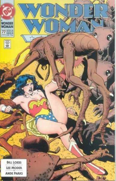 Wonder Woman #77 Comic Books - Covers, Scans, Photos  in Wonder Woman Comic Books - Covers, Scans, Gallery