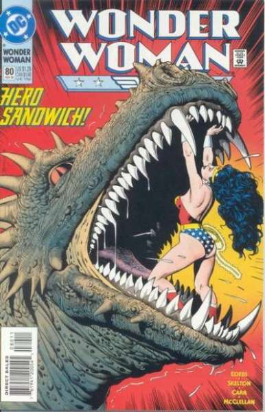 Wonder Woman #80 Comic Books - Covers, Scans, Photos  in Wonder Woman Comic Books - Covers, Scans, Gallery