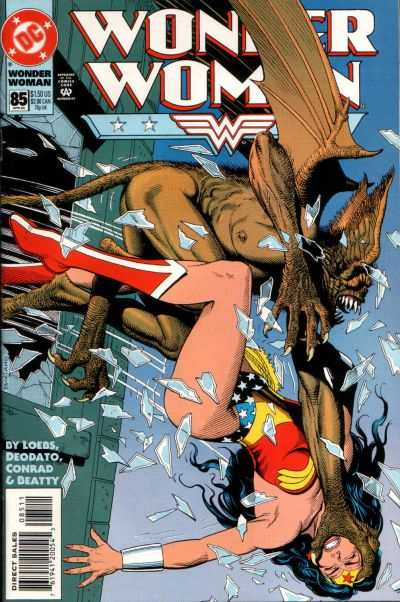 Wonder Woman #85 Comic Books - Covers, Scans, Photos  in Wonder Woman Comic Books - Covers, Scans, Gallery