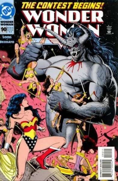 Wonder Woman #90 Comic Books - Covers, Scans, Photos  in Wonder Woman Comic Books - Covers, Scans, Gallery