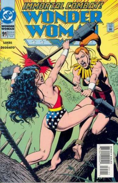 Wonder Woman #91 comic books for sale