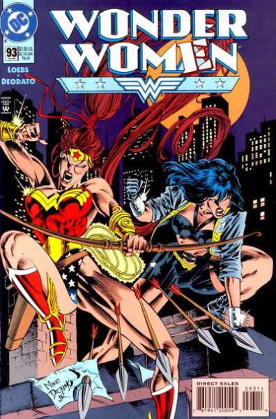 Wonder Woman #93 comic books for sale