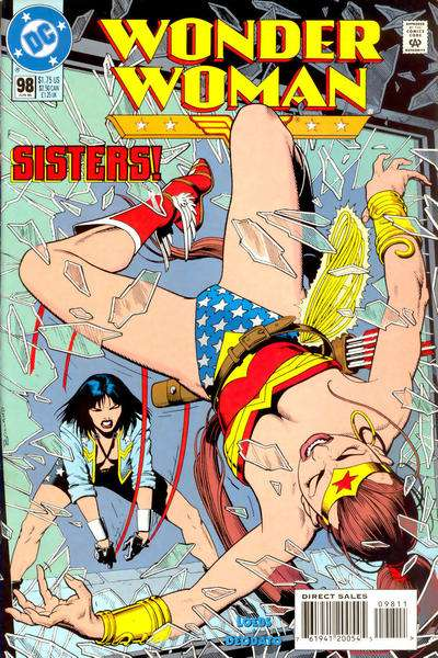 Wonder Woman #98 comic books for sale