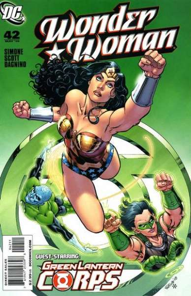 Wonder Woman #42 comic books - cover scans photos Wonder Woman #42 comic books - covers, picture gallery