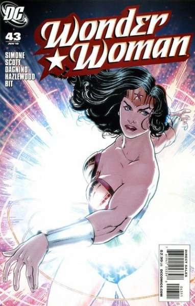 Wonder Woman #43 comic books - cover scans photos Wonder Woman #43 comic books - covers, picture gallery