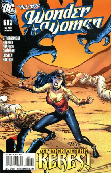 Wonder Woman #603 Comic Books - Covers, Scans, Photos  in Wonder Woman Comic Books - Covers, Scans, Gallery