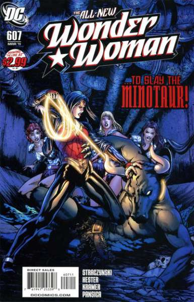 Wonder Woman #607 Comic Books - Covers, Scans, Photos  in Wonder Woman Comic Books - Covers, Scans, Gallery