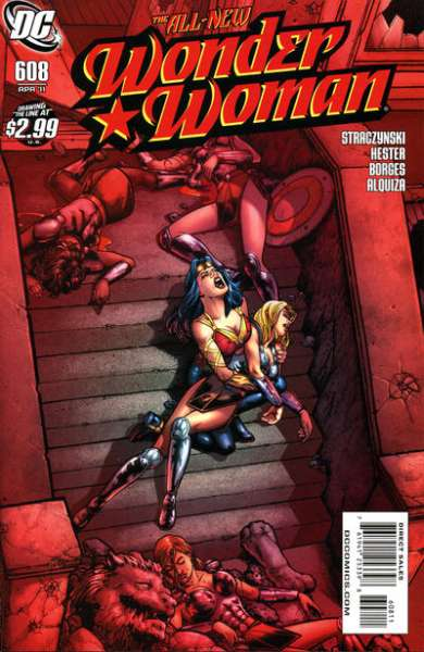 Wonder Woman #608 Comic Books - Covers, Scans, Photos  in Wonder Woman Comic Books - Covers, Scans, Gallery