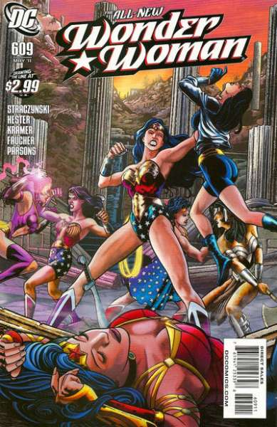 Wonder Woman #609 Comic Books - Covers, Scans, Photos  in Wonder Woman Comic Books - Covers, Scans, Gallery
