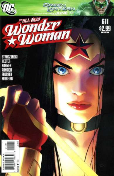 Wonder Woman #611 comic books - cover scans photos Wonder Woman #611 comic books - covers, picture gallery