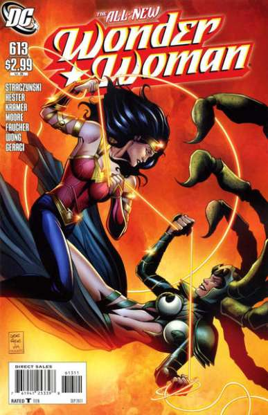 Wonder Woman #613 comic books - cover scans photos Wonder Woman #613 comic books - covers, picture gallery