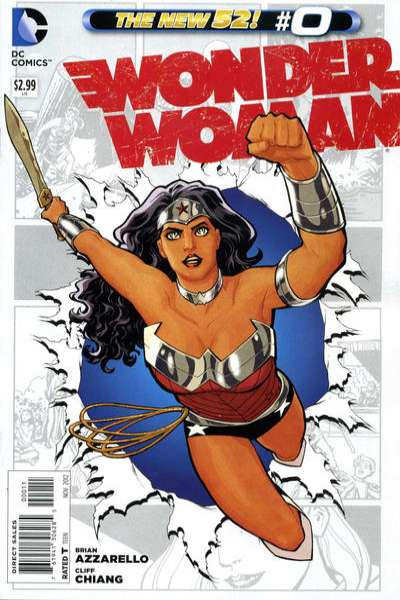 Wonder Woman #0 comic books - cover scans photos Wonder Woman #0 comic books - covers, picture gallery