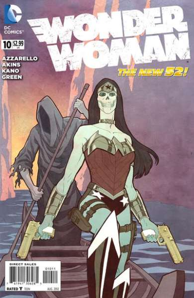 Wonder Woman #10 comic books - cover scans photos Wonder Woman #10 comic books - covers, picture gallery