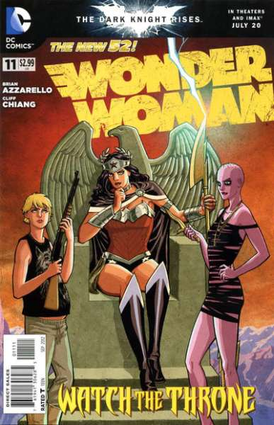Wonder Woman #11 comic books - cover scans photos Wonder Woman #11 comic books - covers, picture gallery
