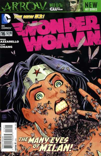 Wonder Woman #16 comic books - cover scans photos Wonder Woman #16 comic books - covers, picture gallery