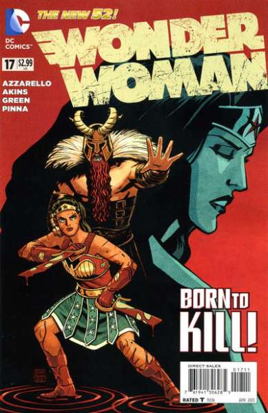 Wonder Woman #17 Comic Books - Covers, Scans, Photos  in Wonder Woman Comic Books - Covers, Scans, Gallery