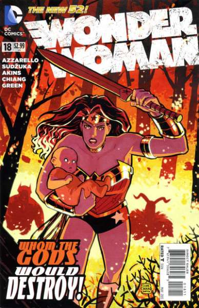 Wonder Woman #18 Comic Books - Covers, Scans, Photos  in Wonder Woman Comic Books - Covers, Scans, Gallery