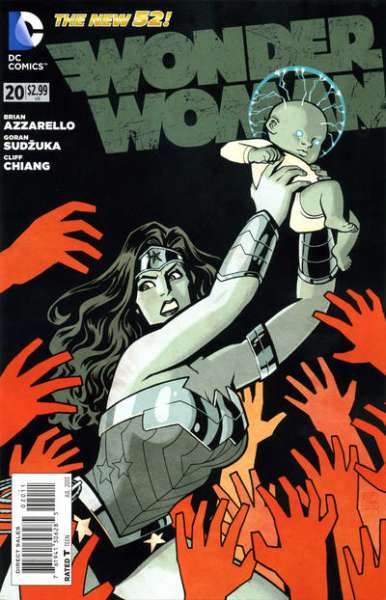 Wonder Woman #20 comic books - cover scans photos Wonder Woman #20 comic books - covers, picture gallery
