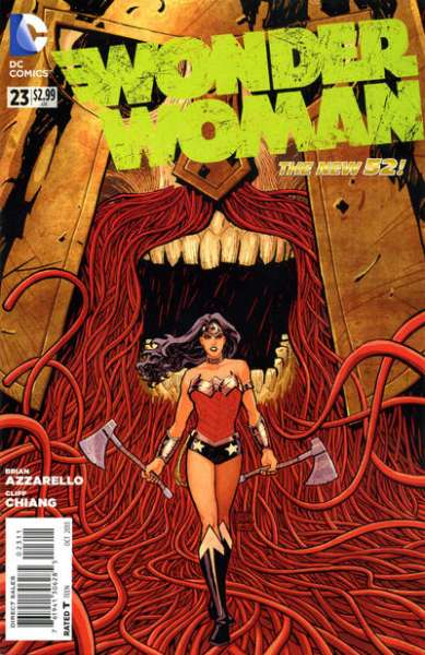 Wonder Woman #23 comic books - cover scans photos Wonder Woman #23 comic books - covers, picture gallery