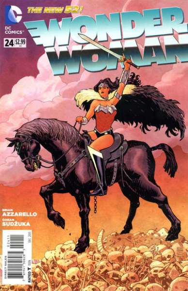 Wonder Woman #24 comic books - cover scans photos Wonder Woman #24 comic books - covers, picture gallery