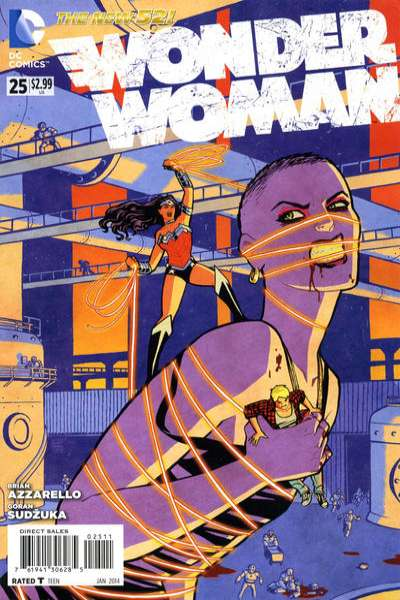 Wonder Woman #25 comic books - cover scans photos Wonder Woman #25 comic books - covers, picture gallery
