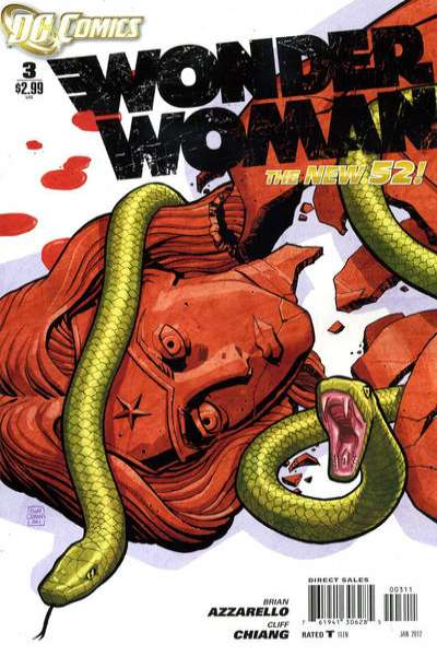 Wonder Woman #3 Comic Books - Covers, Scans, Photos  in Wonder Woman Comic Books - Covers, Scans, Gallery