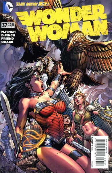 Wonder Woman #37 comic books for sale