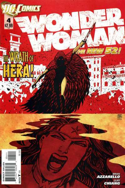 Wonder Woman #4 Comic Books - Covers, Scans, Photos  in Wonder Woman Comic Books - Covers, Scans, Gallery