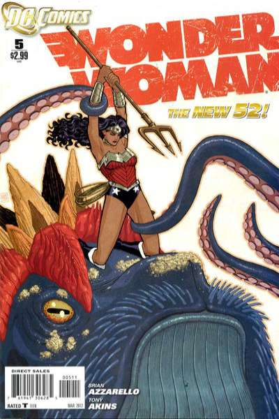 Wonder Woman #5 Comic Books - Covers, Scans, Photos  in Wonder Woman Comic Books - Covers, Scans, Gallery