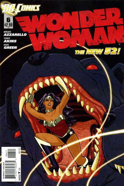 Wonder Woman #6 Comic Books - Covers, Scans, Photos  in Wonder Woman Comic Books - Covers, Scans, Gallery