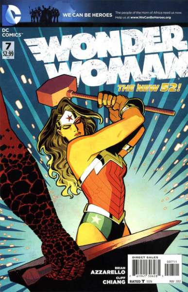 Wonder Woman #7 comic books - cover scans photos Wonder Woman #7 comic books - covers, picture gallery