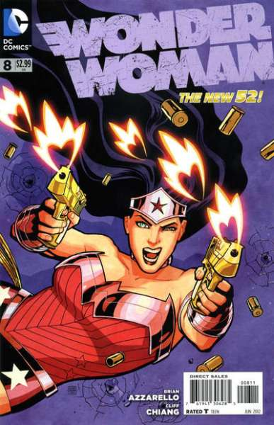 Wonder Woman #8 comic books - cover scans photos Wonder Woman #8 comic books - covers, picture gallery