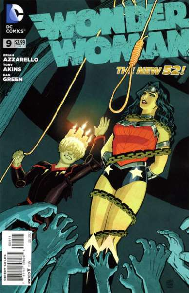 Wonder Woman #9 Comic Books - Covers, Scans, Photos  in Wonder Woman Comic Books - Covers, Scans, Gallery
