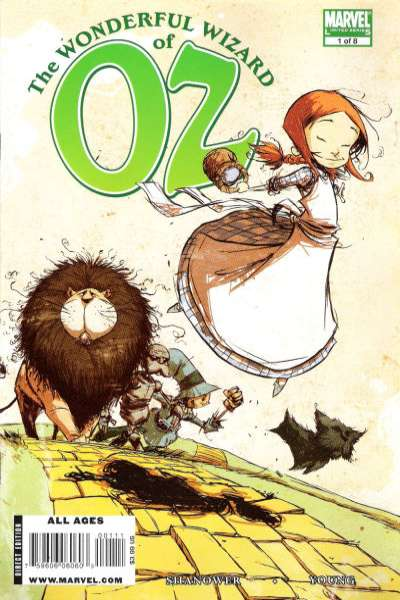 Wonderful Wizard of Oz #1 Comic Books - Covers, Scans, Photos  in Wonderful Wizard of Oz Comic Books - Covers, Scans, Gallery