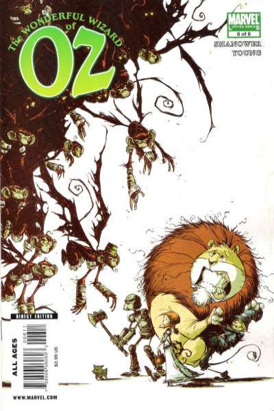 Wonderful Wizard of Oz #6 comic books for sale