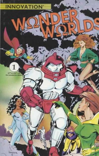 Wonderworlds #1 comic books for sale