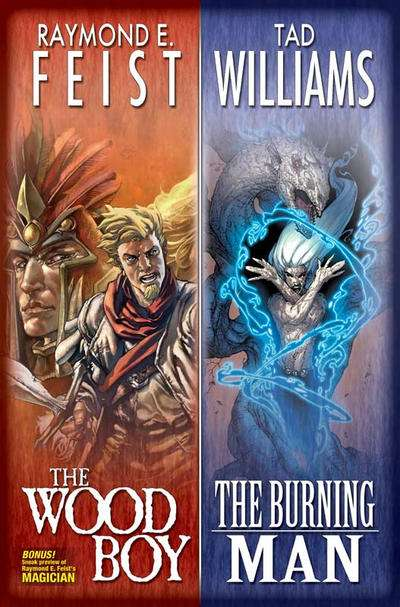 Wood Boy / The Burning Man comic books