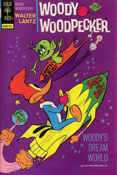 Woody Woodpecker #141 comic books for sale