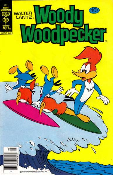 Woody Woodpecker #181 comic books for sale