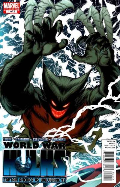 World War Hulks: Captain America vs. Wolverine Comic Books. World War Hulks: Captain America vs. Wolverine Comics.