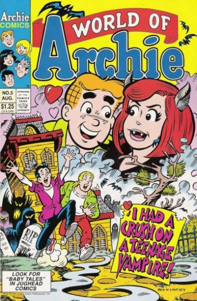 World of Archie #5 comic books - cover scans photos World of Archie #5 comic books - covers, picture gallery
