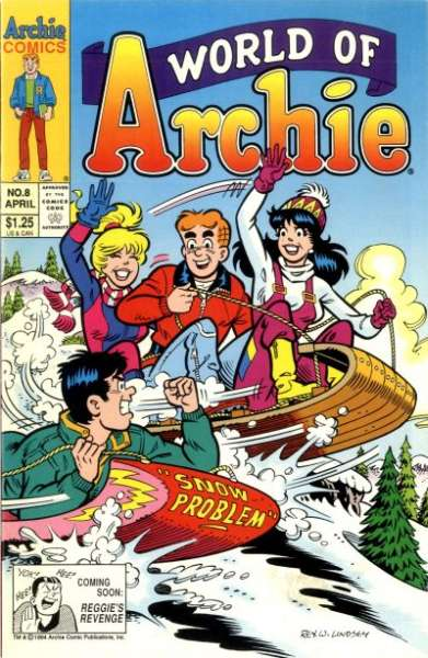 World of Archie #8 comic books - cover scans photos World of Archie #8 comic books - covers, picture gallery