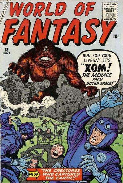 World of Fantasy #18 Comic Books - Covers, Scans, Photos  in World of Fantasy Comic Books - Covers, Scans, Gallery