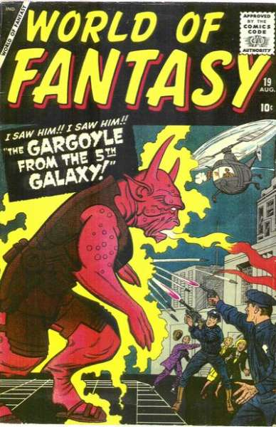 World of Fantasy #19 Comic Books - Covers, Scans, Photos  in World of Fantasy Comic Books - Covers, Scans, Gallery