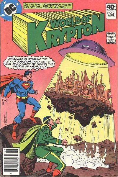 World of Krypton #2 comic books for sale