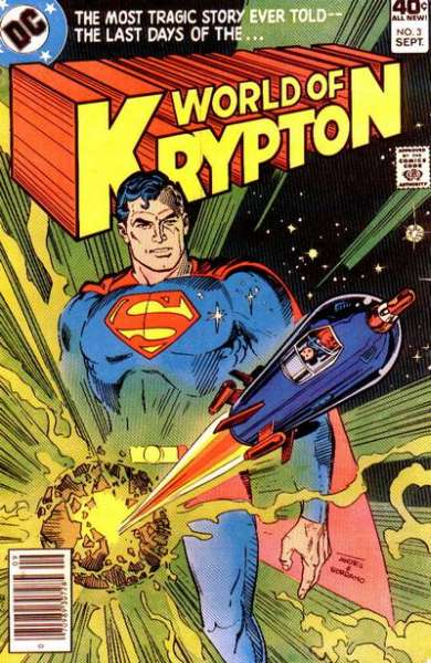World of Krypton #3 comic books for sale