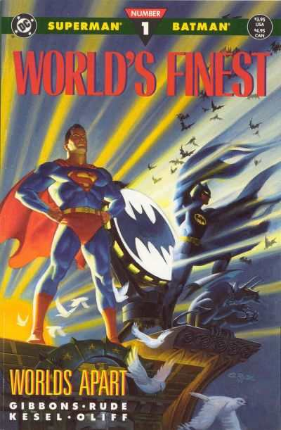 World's Finest comic books